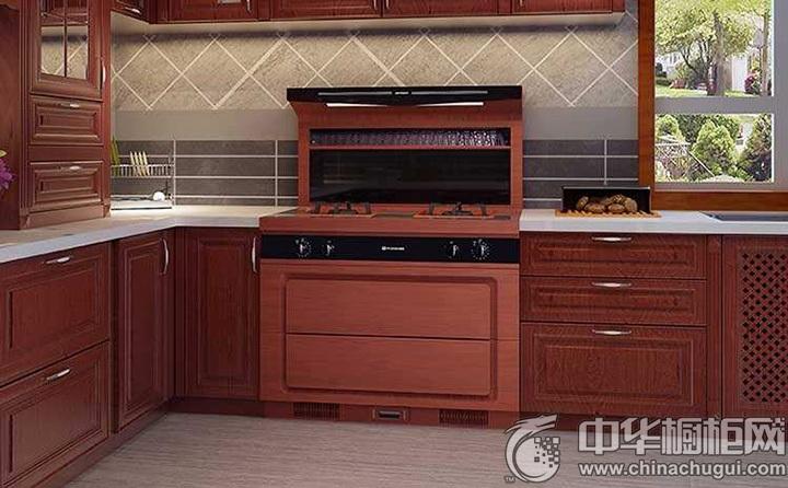 中式厨房装修效果图 橱柜图片