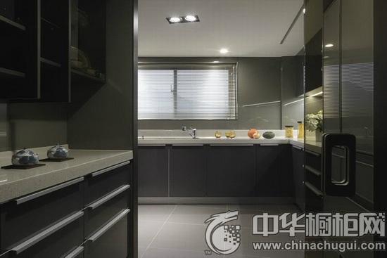 艺术绿植家装设计 整体厨房塑造立体空间感_中华橱柜网
