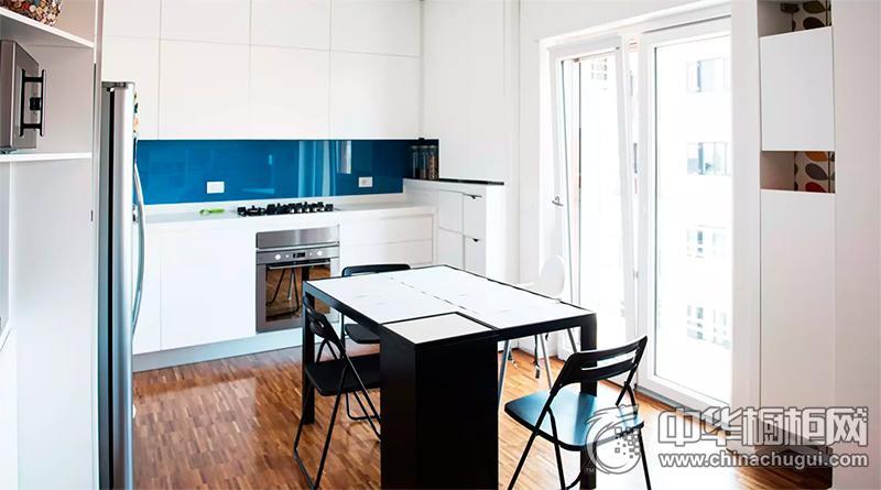 白色厨房效果图 简欧风格橱柜装修效果图
