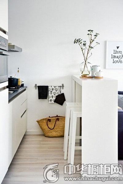 6款厨房吧台装修设计 营造精致厨房生活