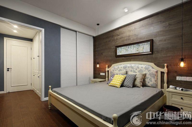 美式工业风卧室装修效果图