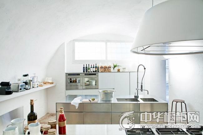 厨房设计效果图 岛型橱柜图片