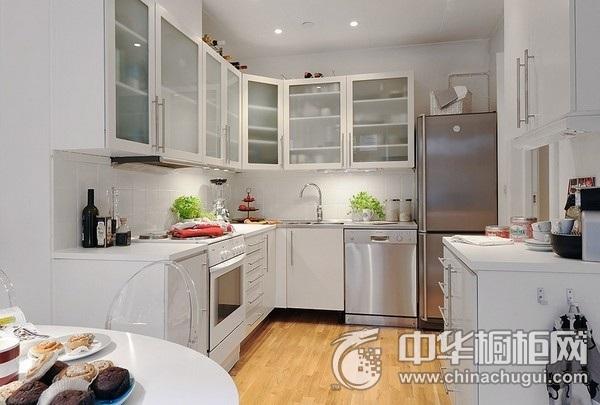 厨房装修图片 白色橱柜效果图