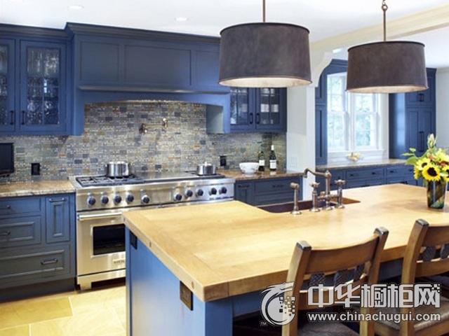 厨房设计效果图 岛型整体橱柜图片