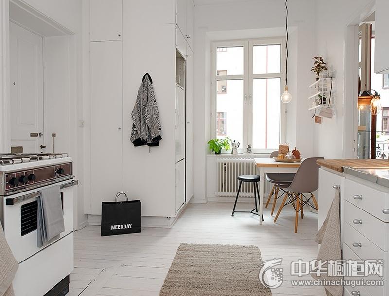 厨房整体橱柜效果图 北欧风格橱柜效果图