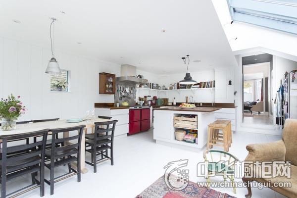 厨房装修图片 岛型橱柜效果图