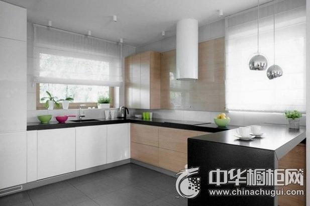 厨房装修效果图片 L型橱柜图片