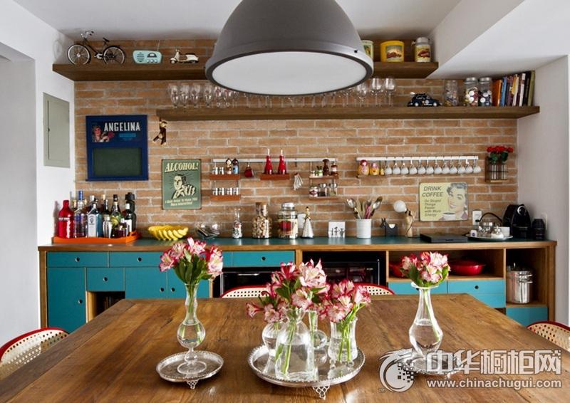厨房橱柜图片 一字型橱柜图片