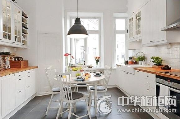北欧风格厨房效果图 整体橱柜效果图