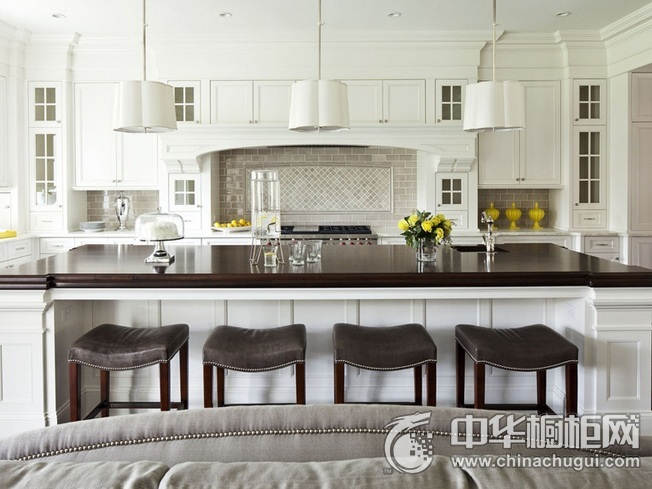 厨房装修图片 岛型橱柜图片
