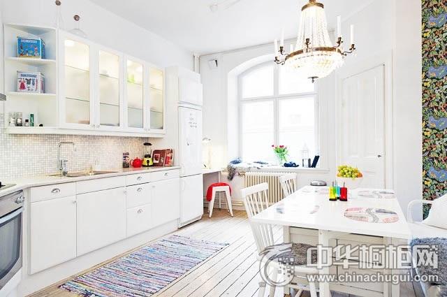 橱柜效果图 厨房装修设计效果图