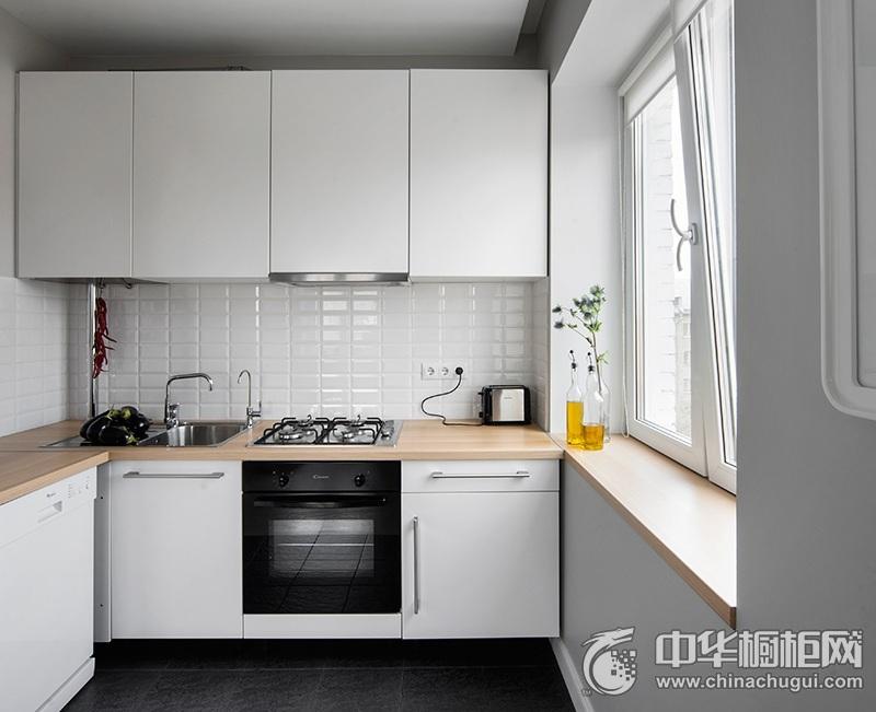 简约时尚橱柜效果图片 U型厨房装修效果图