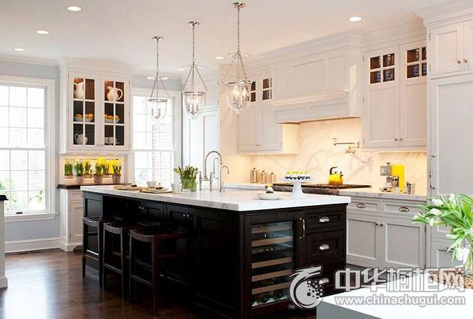 大户型厨房设计图 橱柜设计图