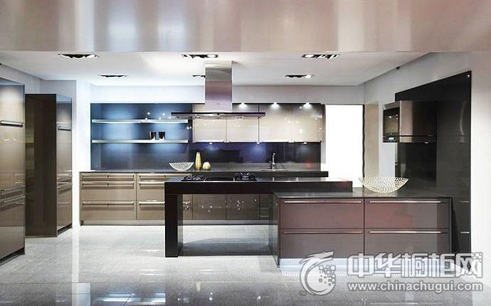 简约时尚厨房设计图 橱柜设计效果图
