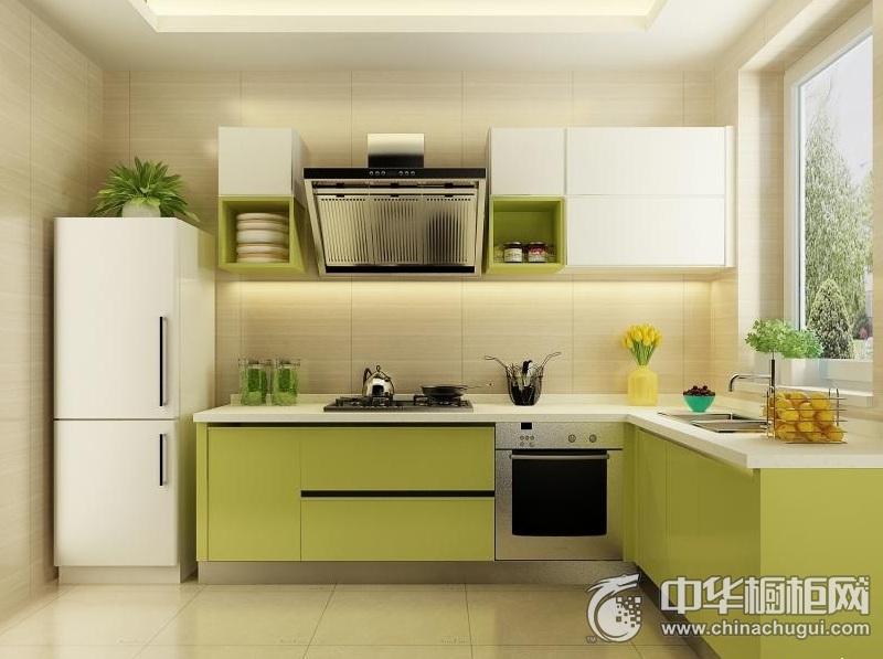 厨房装修图片 L型橱柜效果图