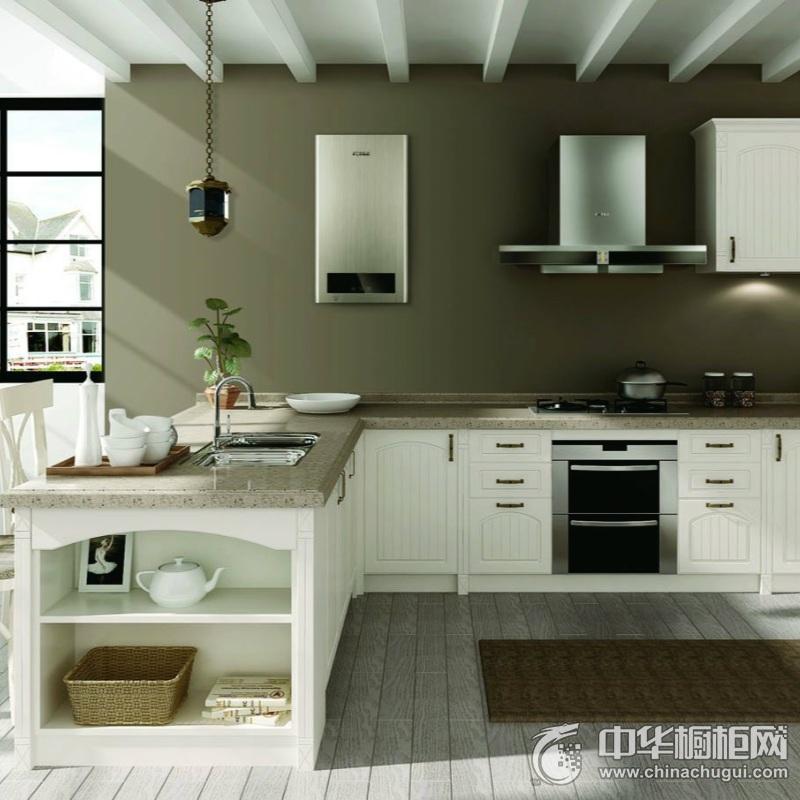 家庭厨房装修效果图 欧式橱柜图片