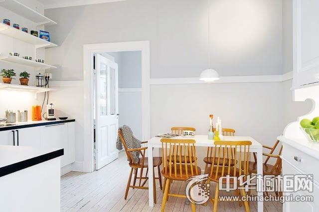 餐厨一体装修效果图 厨房橱柜图片