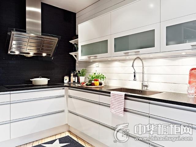 家庭厨房设计效果图 L型橱柜效果图