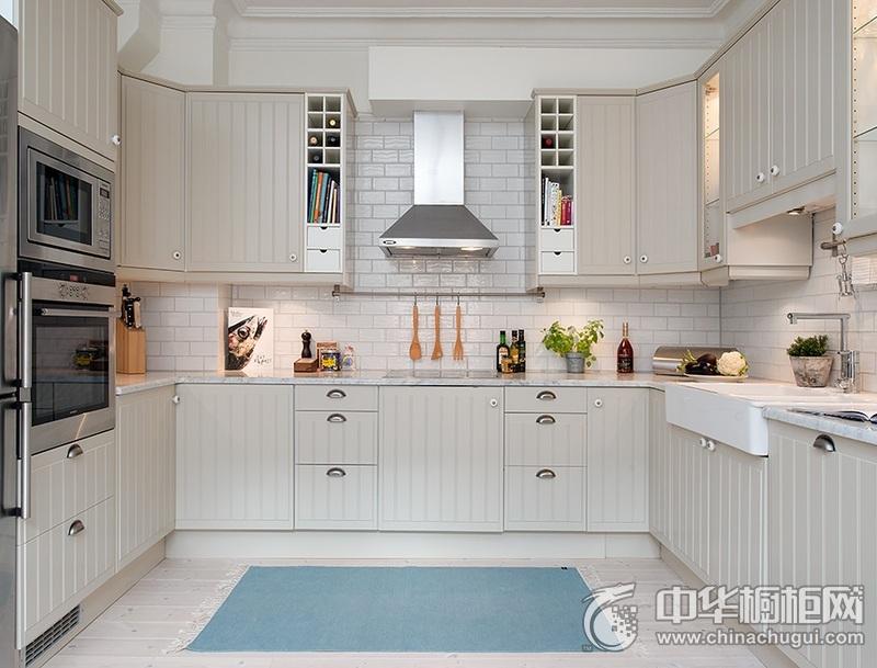 整体厨房效果图 U型厨房装修效果图