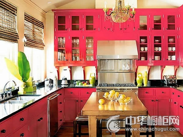 厨房设计效果图 橱柜图片