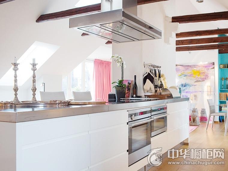 厨房吧台装修效果图 整体厨房设计图片