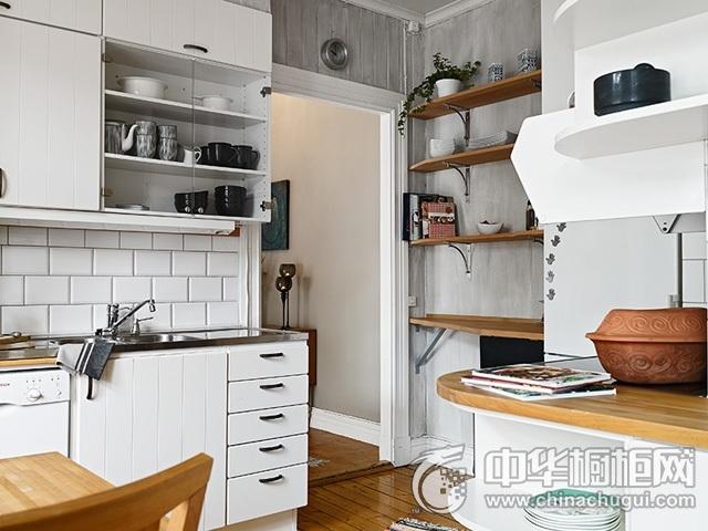 北欧风格橱柜设计图 厨房装修效果图大全
