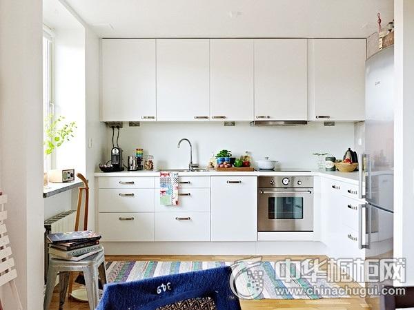 厨房橱柜图片 L型厨房装修效果图