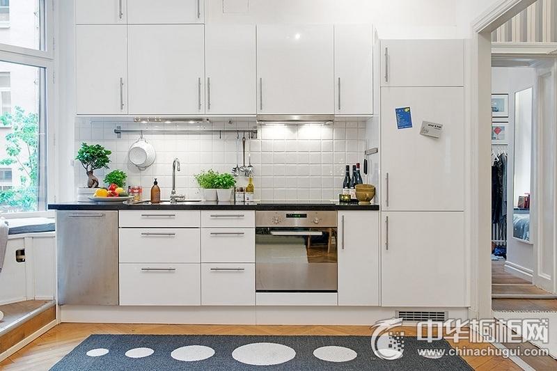 开放式厨房效果图 橱柜装修效果图