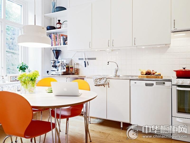 餐厨一体装修效果图 橱柜设计图