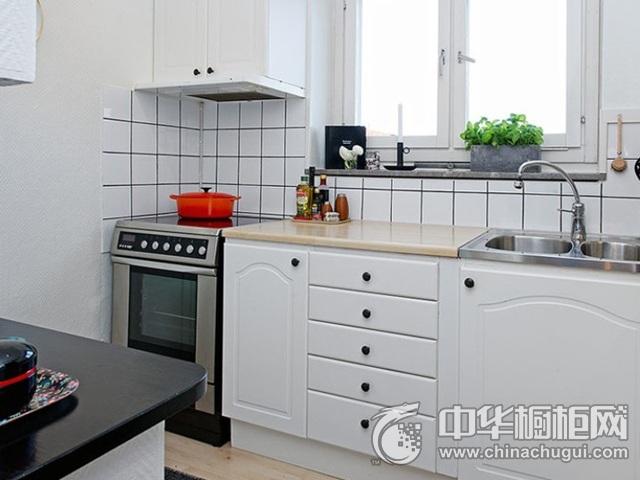 厨房橱柜图片 一字型厨房装修效果图