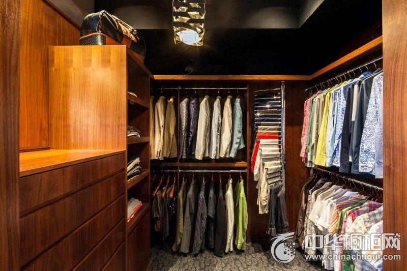 衣帽间装修效果图 最新款整体衣柜图片
