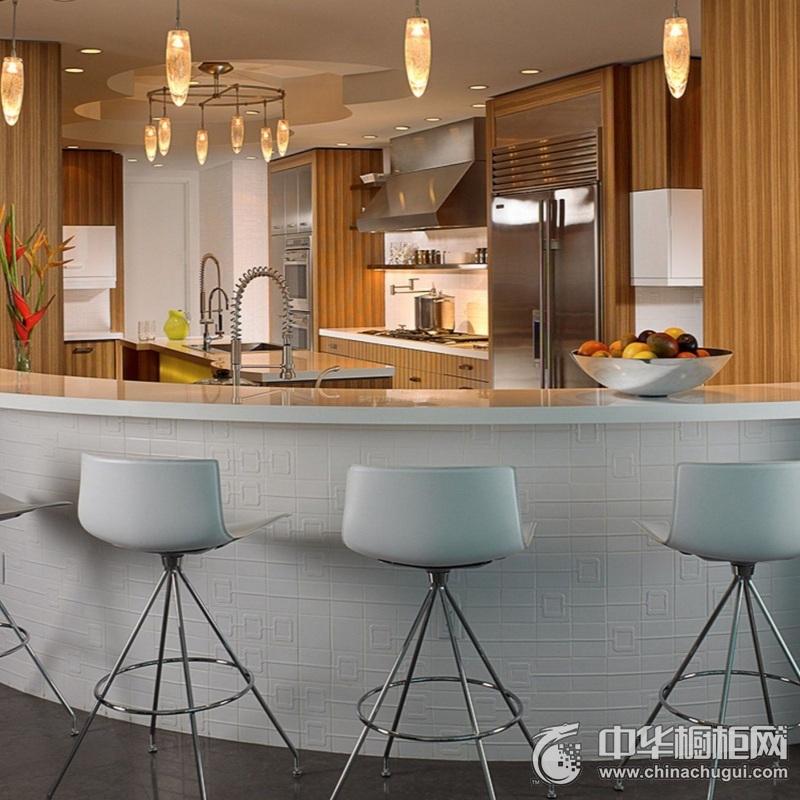 开放式厨房效果图 橱柜设计图