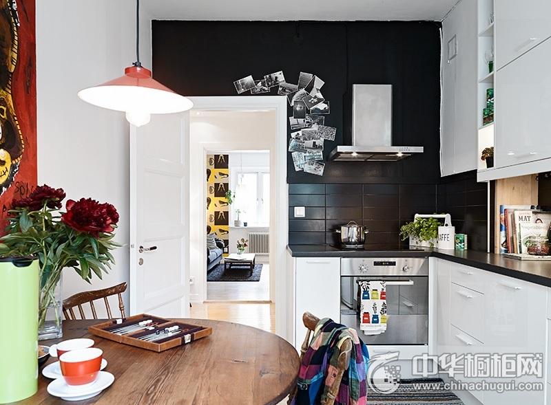 现代简约橱柜效果图 白色厨房效果图