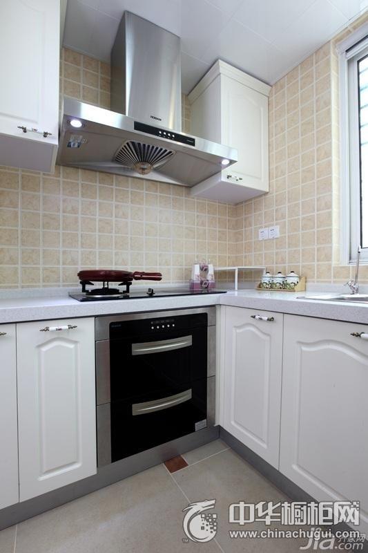简欧风格厨房效果图 小厨房橱柜设计图