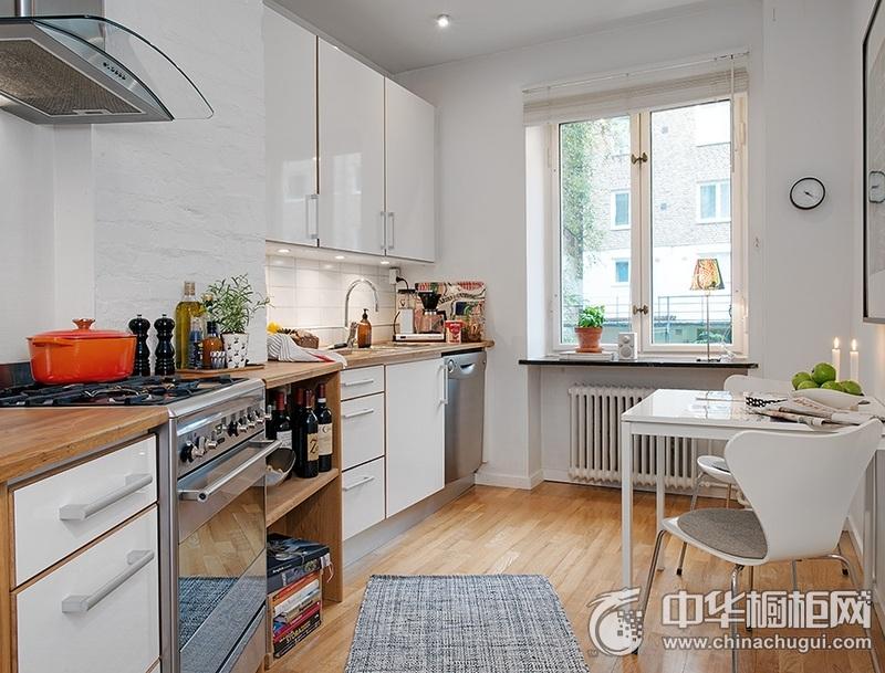 北欧风格橱柜图片 整体厨房图片
