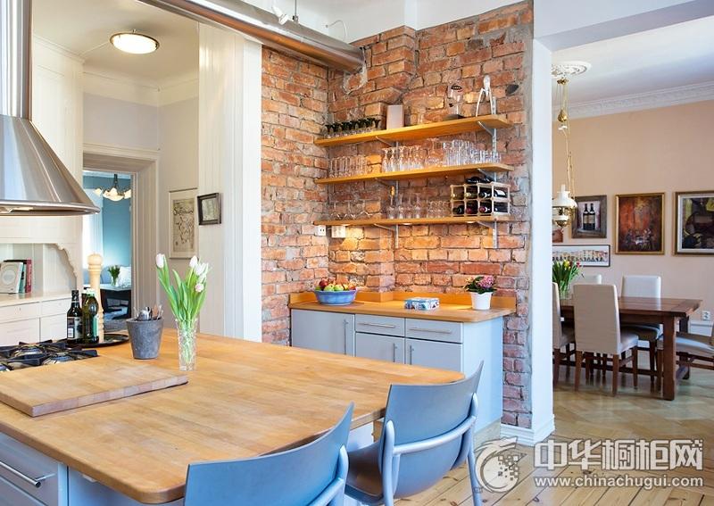 整体厨房图片 岛型整体橱柜图片