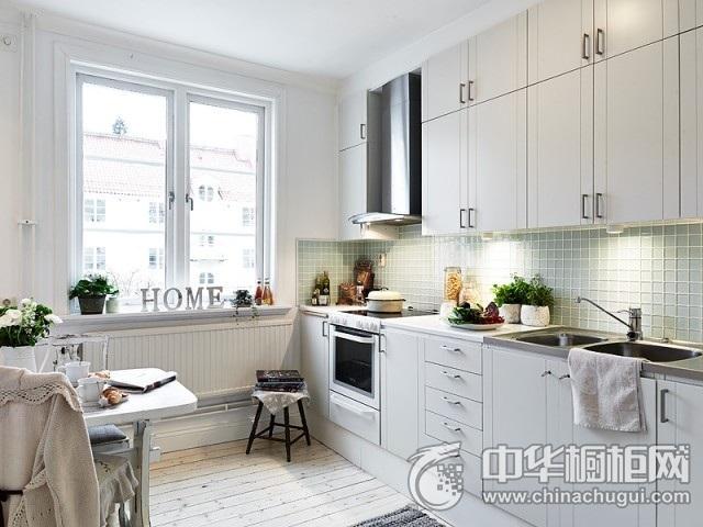 现代简约橱柜效果图 厨房橱柜图片