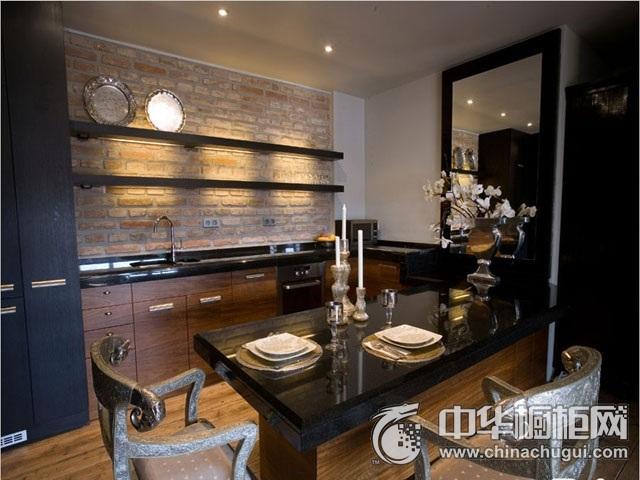 厨房吧台装修效果图 橱柜设计图