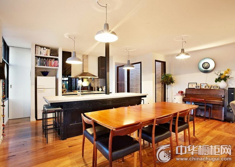 厨房吧台装修效果图 橱柜装修效果图