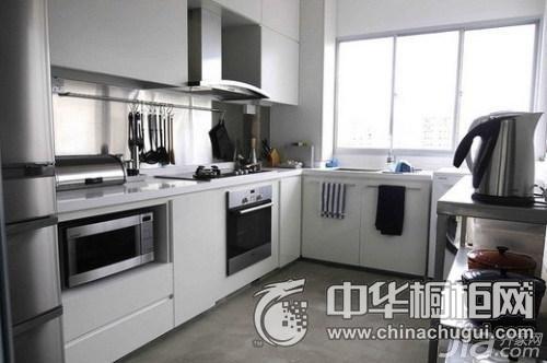 小厨房橱柜设计图 集成灶装修效果图大全