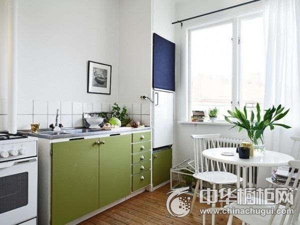 小厨房装修效果图 整体橱柜图片