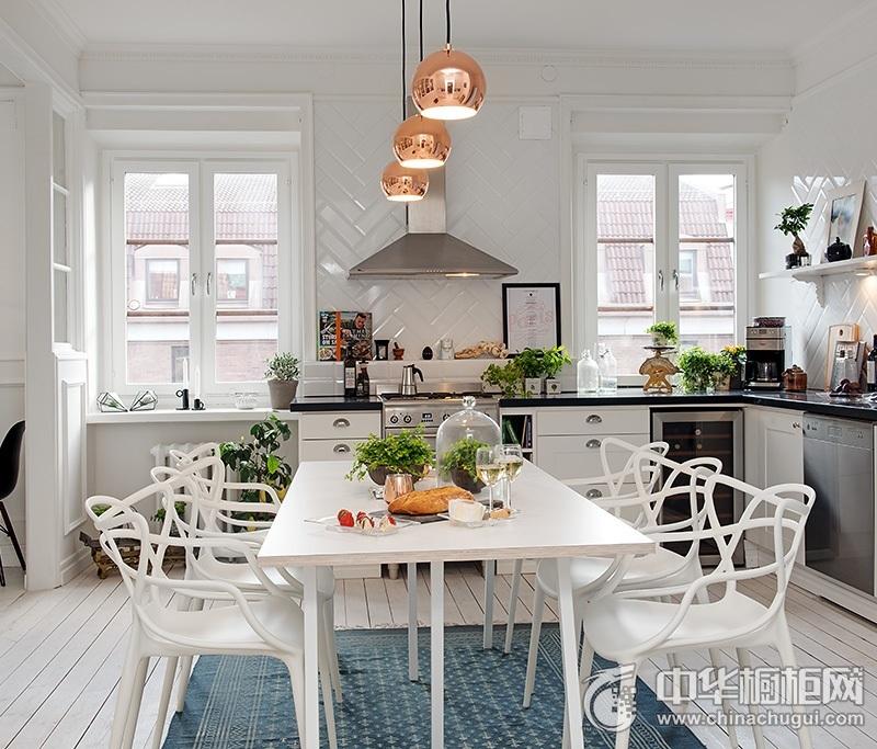 欧式橱柜图片 厨房设计效果图