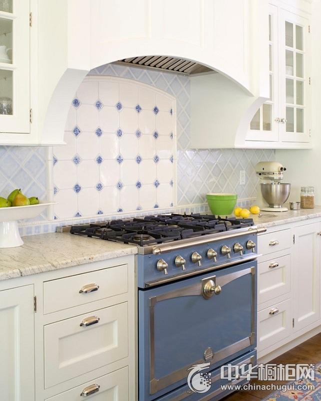 集成灶橱柜图片 美式风格厨房装修效果图