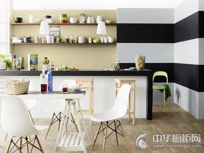 家庭厨房装修效果图 橱柜设计图