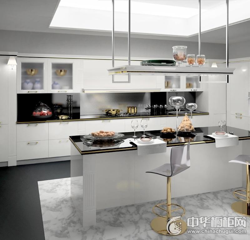 厨房吧台装修效果图 岛型橱柜图片