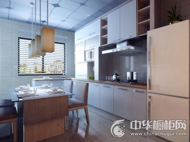 整体厨房设计图片 餐厨一体装修效果图