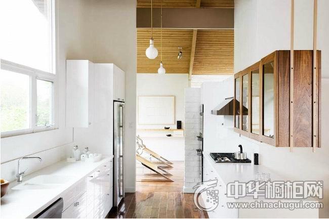 开放式厨房效果图 整体橱柜图片