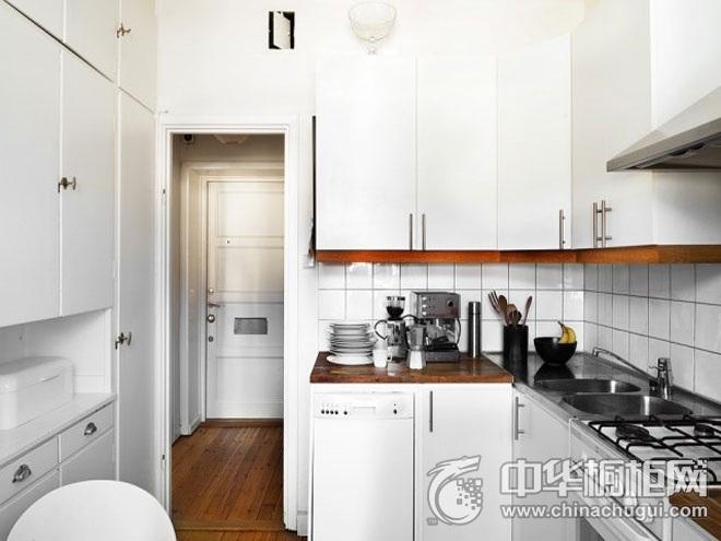 北欧风格橱柜图片 白色橱柜效果图