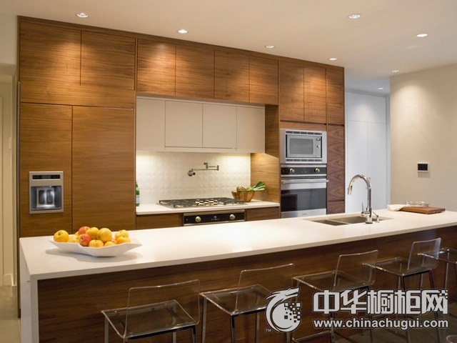 整体厨房设计图片 岛型橱柜图片