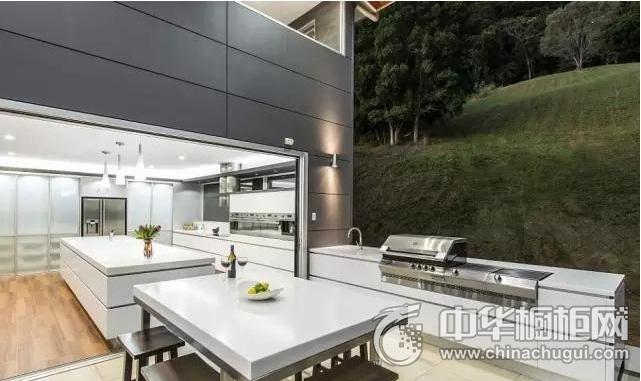 现代简约风格橱柜效果图   开放式厨房图片